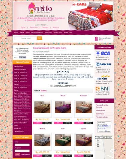 Contoh Website Keren Belajar Web Design Naevaweb Com